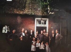 Het eerste gezin dat op Tespelduyn woonde